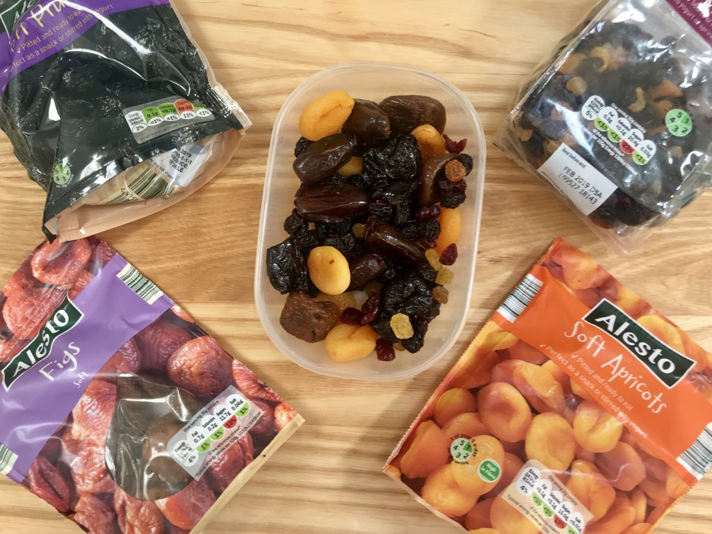 Dried fruit supplies