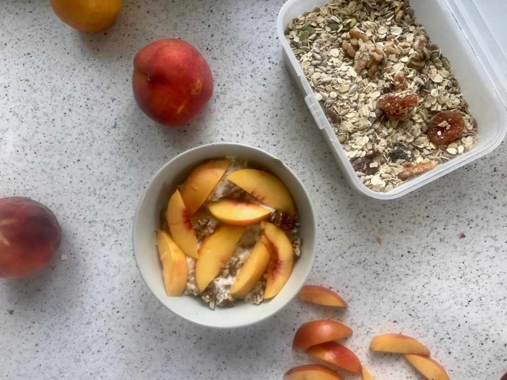 Holiday Bircher muesli